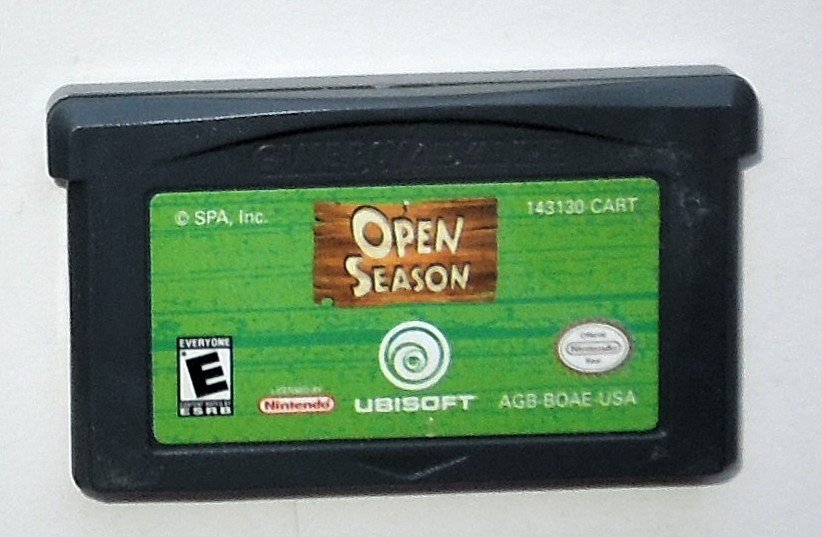 2006 Ubisoft Open Season For Game Boy Advance & Nintendo DS Game systems