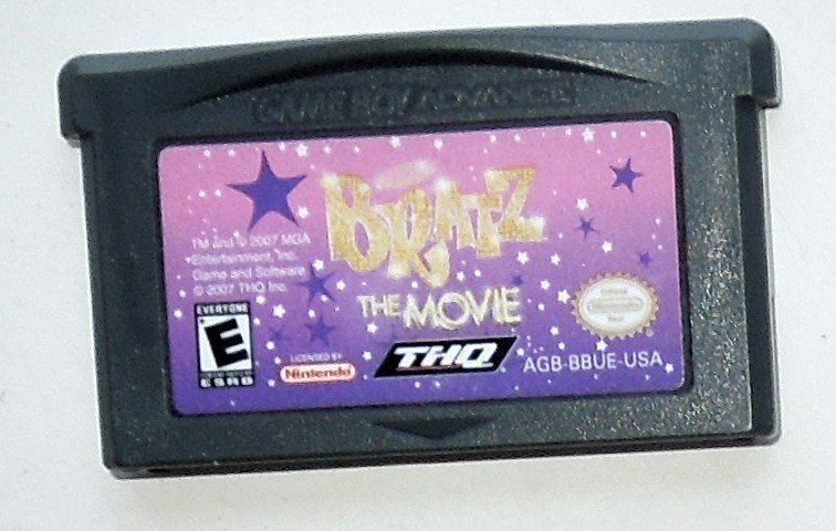 2007 THQ Bratz The Movie For Game Boy Advance & DS Game Systems