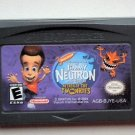 2004 THQ Jimmy Neutron Attack Of The Twonkies For the Game Boy Advance