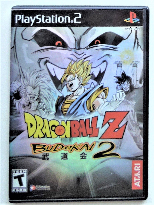 2003 Atari Dragonball Z Budokai 2 For Playstation 2 Game Systems