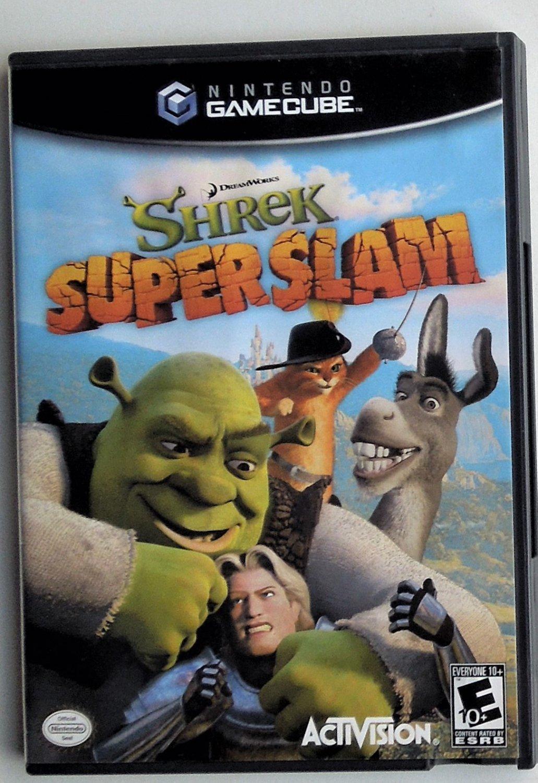 2005 Activision Shrek Super Slam For The Gamecube Game System
