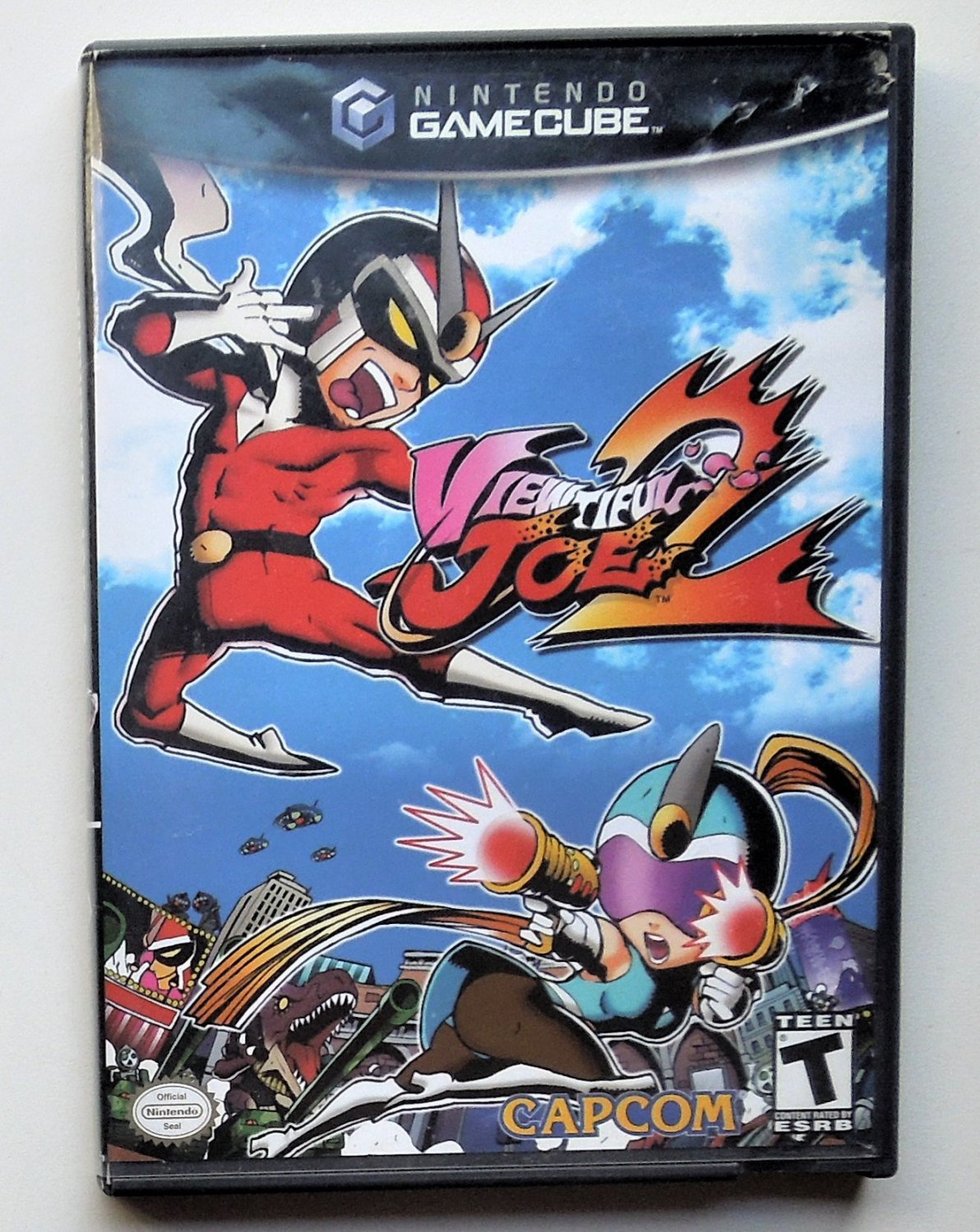 2004 Capcom Viewful Joe 2 For the Gamecube Game systems
