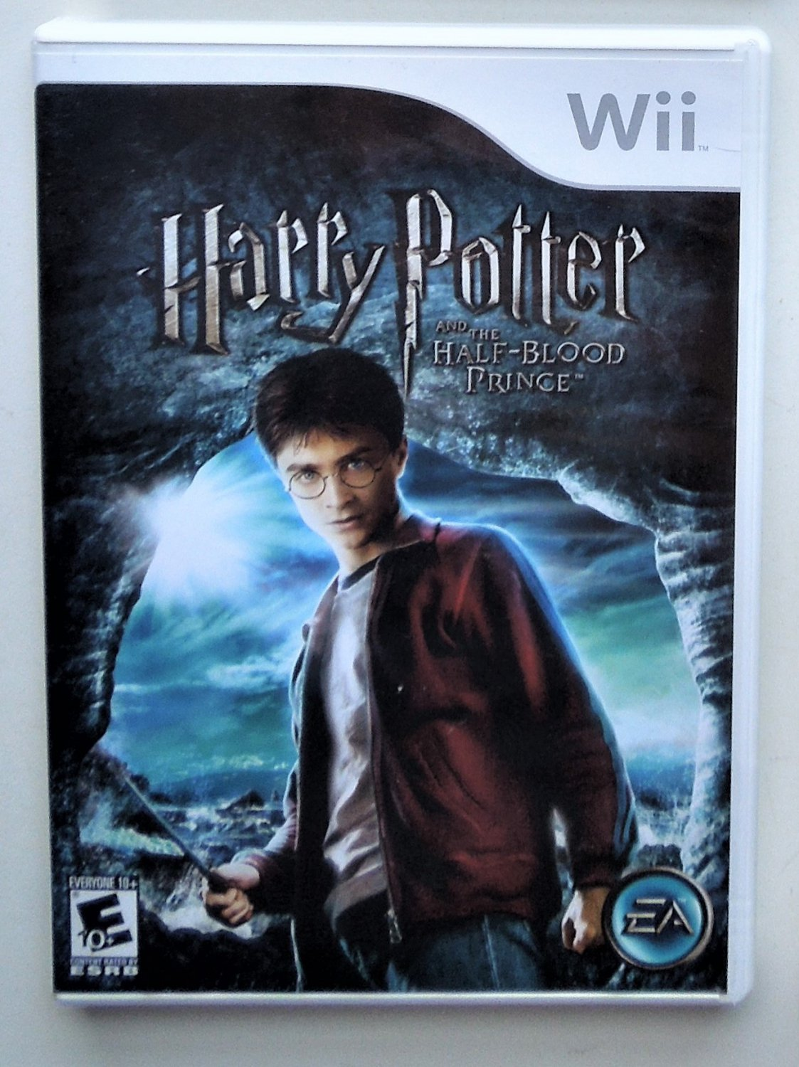 2007 EA Games Harry Potter Half-Blood Prince For Wii Game Systems