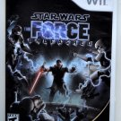 2008 Lucasarts Star Wars The Force Unleashed For Wii Game Systems