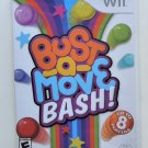 2007 Majesco Bust-A-Move Bash For Nintendo Wii Game Systems New & Sealed