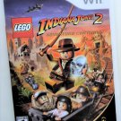 2009 Lego Indiana Jones 2 The Adventure Continues For Wii Game Systems