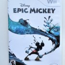 2010 Disney Epic Mickey For Nintendo Wii Game Systems