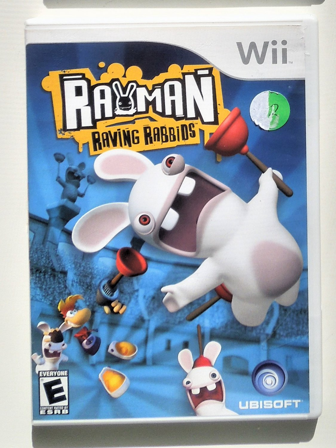 2006 Ubisoft Rayman Raving Rabbids For Nintendo Wii Game Systems