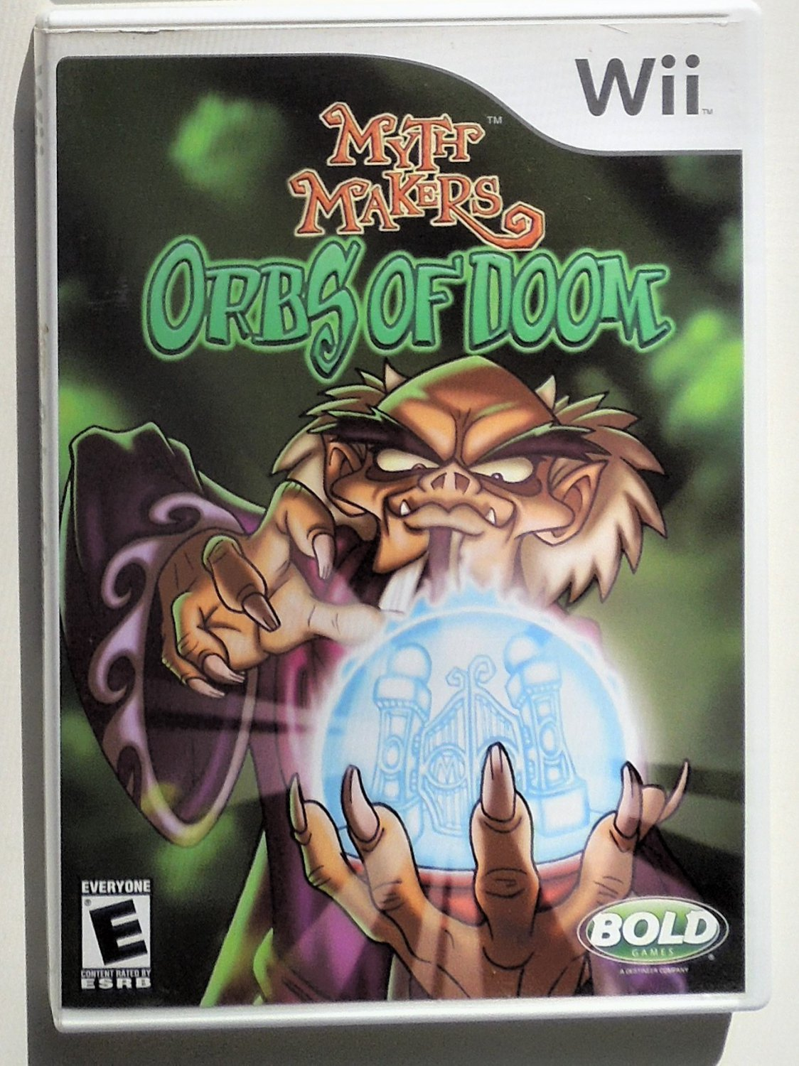 2007 Bold GamesOrbs Of Doom For Nintendo Wii Game Systems