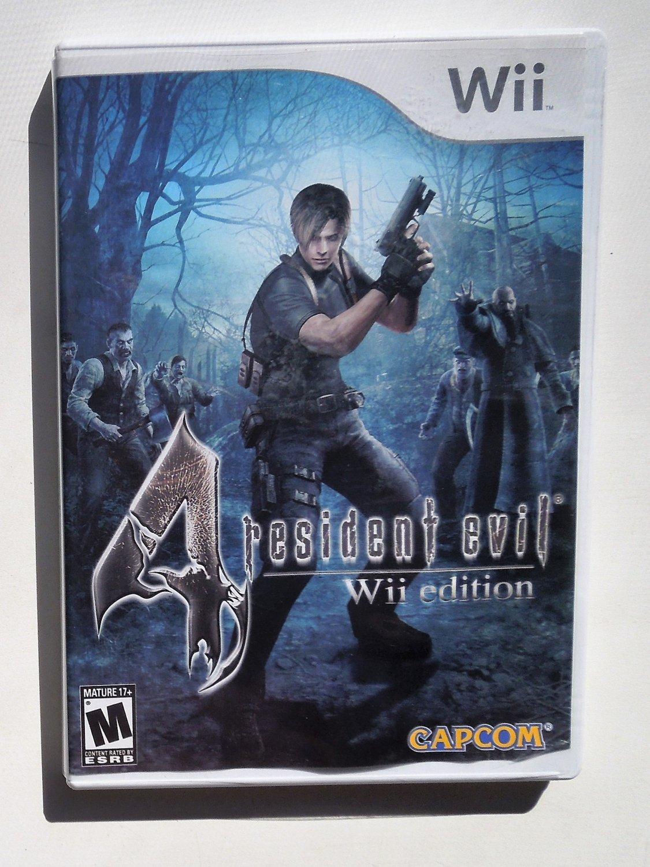 2007 Capcom Resident Evil 4 For Nintendo Wii Game Systems