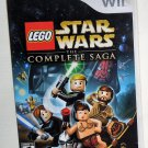 2007 Lego LucasArts Star Wars The Complete Saga for Nintendo Wii Game Systems