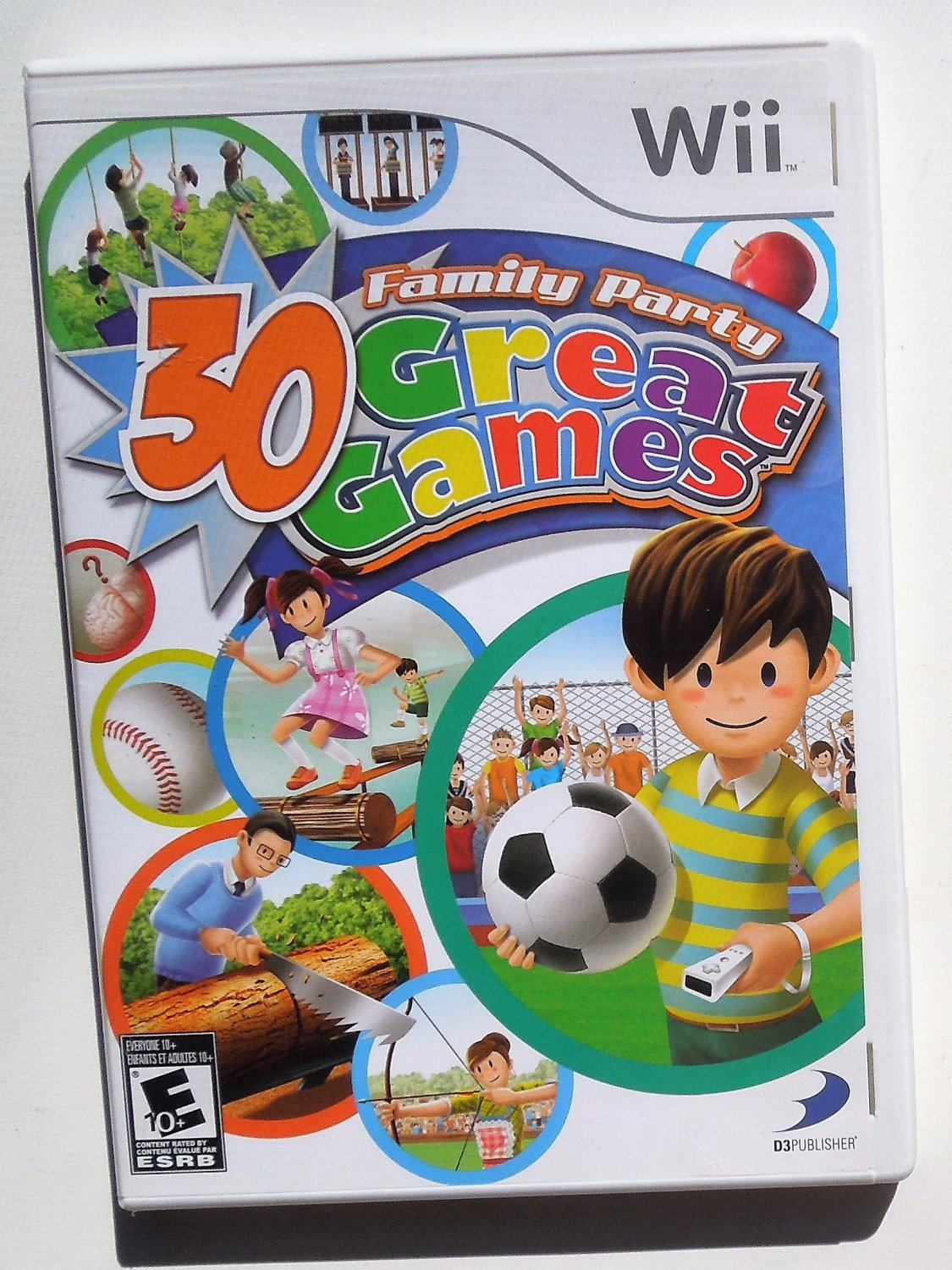 2008 3D Publisher 30 Great Games For Nintendo Wii Game Systems