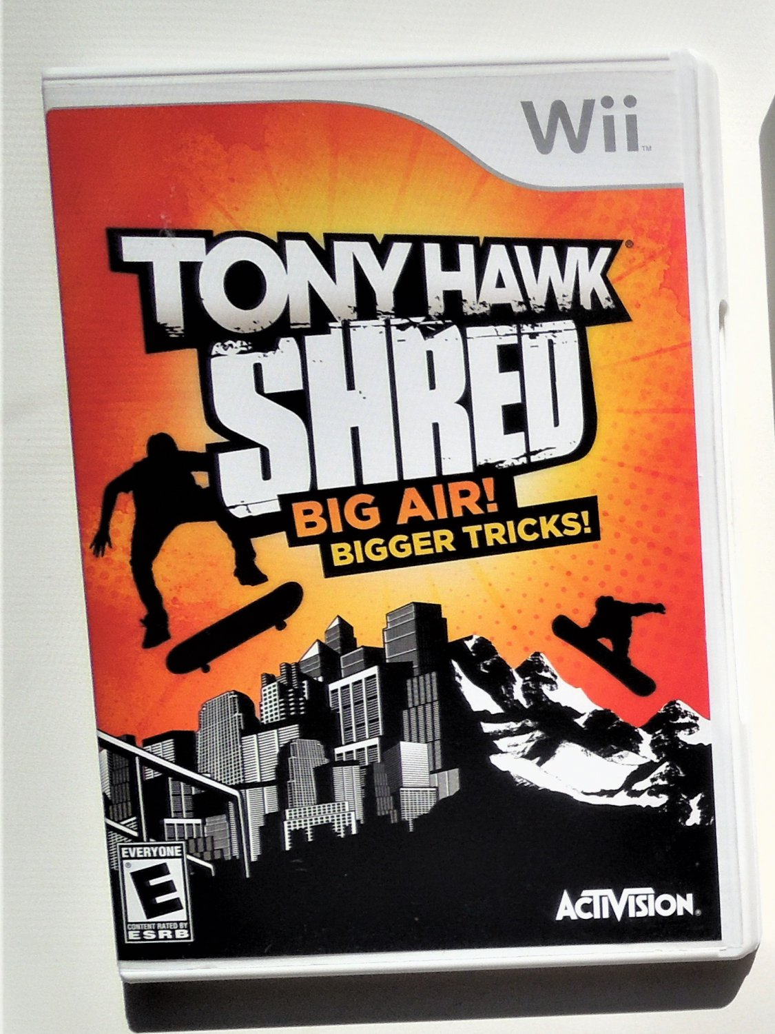 2010 Activision Tony Hawk Shred For Nintendo Wii Game Systems