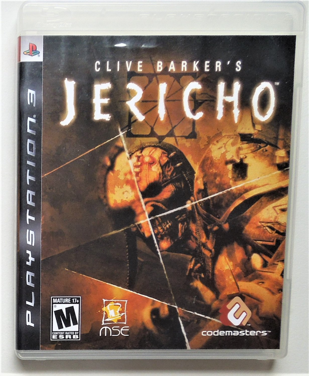 2006 Codemasters Clive Barker's Jericho For The PS3 Game System Complete