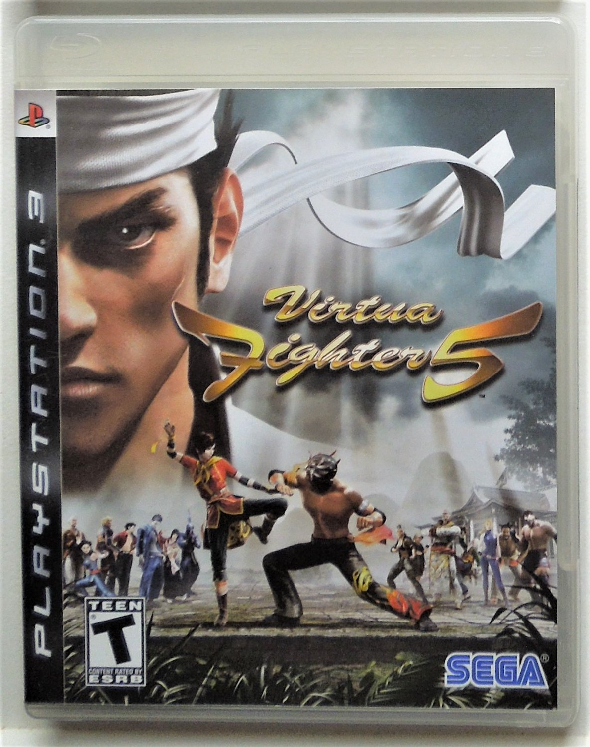 2007 Sega Virtua Fighter 5 For Sony Playstation 3 Game Systems Complete