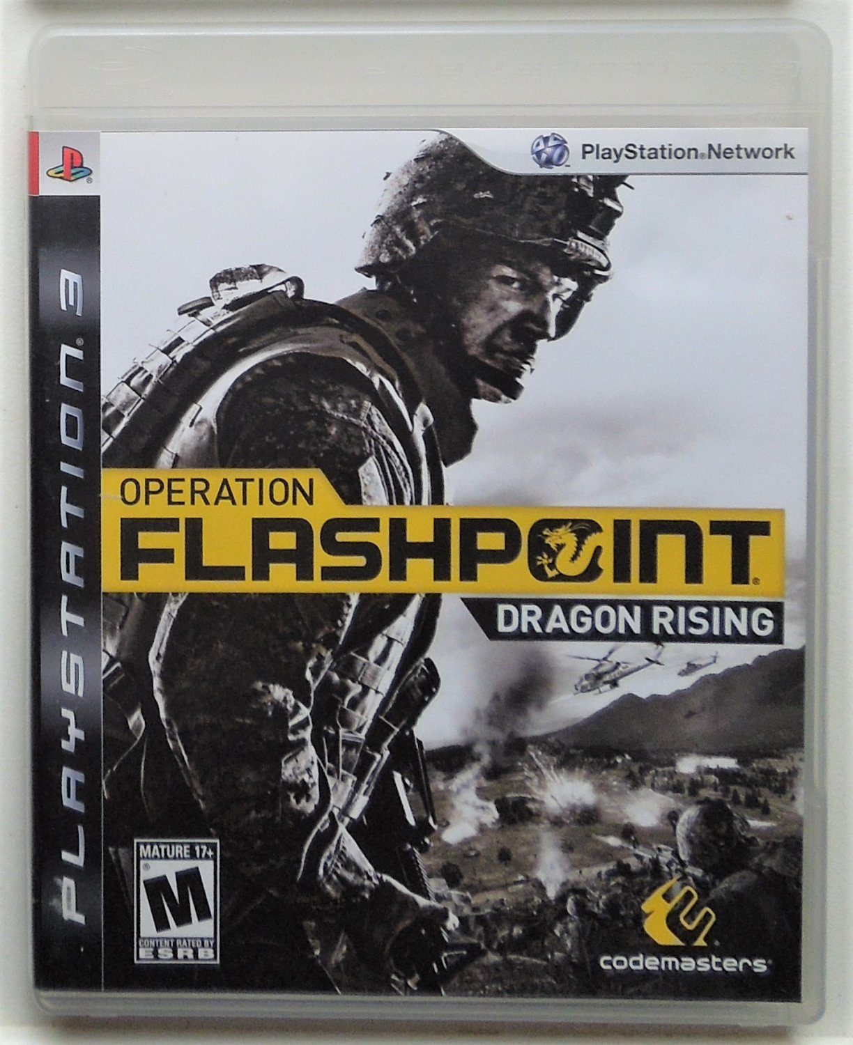 2009 Codemasters Operation Flashpoint Dragon For The PS3 Game System Complete