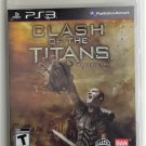 2010 Bandai Clash Of The Titans For The PS3 Game System Sealed Mint