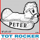 "TOT ROCKING HORSE #808 - Woodworking / Craft Pattern. 16"" x 8"" x 13"""