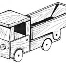 Dump Truck #304 - Woodworking / Craft Patterns