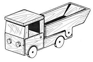 Dump Truck #304 - Woodworking / Craft Patterns