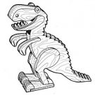 Allosaurus Play Toy #403 -  Woodworking / Craft Pattern