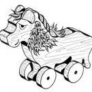 Lion Pull or Play Toy   #110 -  Woodworking / Craft Pattern
