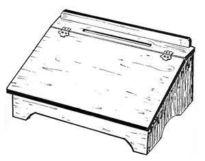 Vermont Lap Desk #151 - Woodworking / Craft Patterns