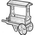 Flower Cart #710 - Woodworking / Craft Pattern