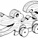 Alligator Pull or Play Toy   #104 -  Woodworking / Craft Pattern