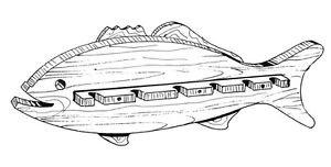 "Fishing Rod Rack  #519 - ""ON SALE"" Woodworking / Craft Pattern"