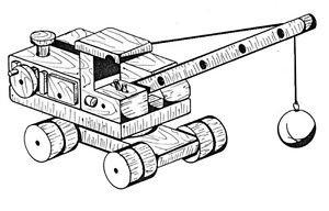 Crane and Wrecking Ball  #303 - Woodworking / Craft Patterns