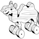 Camel Pull or Play Toy   #106 -  Woodworking / Craft Pattern