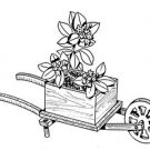 "Wheelbarrow Planter #708 - ""ON SALE"" Woodworking / Craft Pattern"