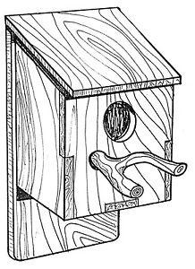 """Rustic Bird House #917 - """"ON SALE"""" Woodworking / Craft Pattern"""