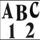 TRACEABLE  ALPHABET #113 -  Woodworking / Craft Pattern