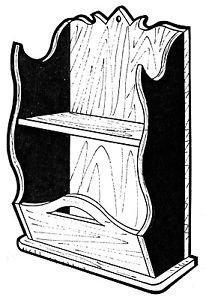 "Shelf Planter #155 -  ""ON SALE""   Woodworking / Craft Pattern"