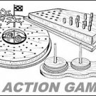 "3 Action Games #701-2-3 - ""ON SALE"" Woodworking / Craft Pattern"