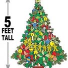 "5 foot Christmas Tree #624 - ""ON SALE"" Woodworking / Craft pattern"