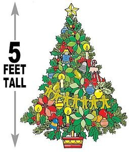 """5 foot Christmas Tree #624 - """"ON SALE"""" Woodworking / Craft pattern"""