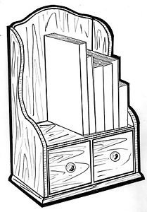 Cookbook Shelf #183 - Woodworking / Craft Pattern