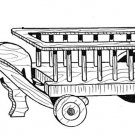 "Wagon Planter #707 - ""ON SALE"" Woodworking / Craft Pattern"