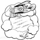 """Red Baron Mirror #502-mp  -  """"ON SALE"""" Woodworking / Craft Pattern"""