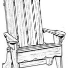 "Adirondack Lawn Chair #167 - ""ON SALE"" Woodworking / Craft Patterns"