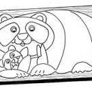 Papa Panda Puzzle #523 - Woodworking / Craft Patterns