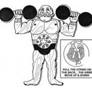 "Strong Man Jumpin' Jack #901 - ""ON SALE""  Woodworking / Craft Pattern"