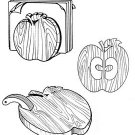 "Apple Set Kitchen Helpers #307 - ""ON SALE"" Woodworking / Craft Pattern"