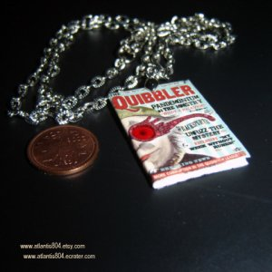The Quibbler Mini Necklace - etsy