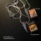 *  Harry Potter Deathly Hallows Mini Book Necklace USA or UK version (ecrater