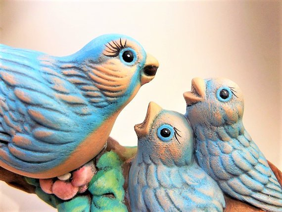 Ceramic Blue Bird