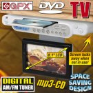 GPX 8.1 inch Under-Counter LCD TV/ DVD
